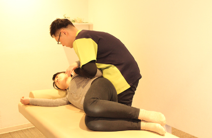 ➀肩周りの筋肉